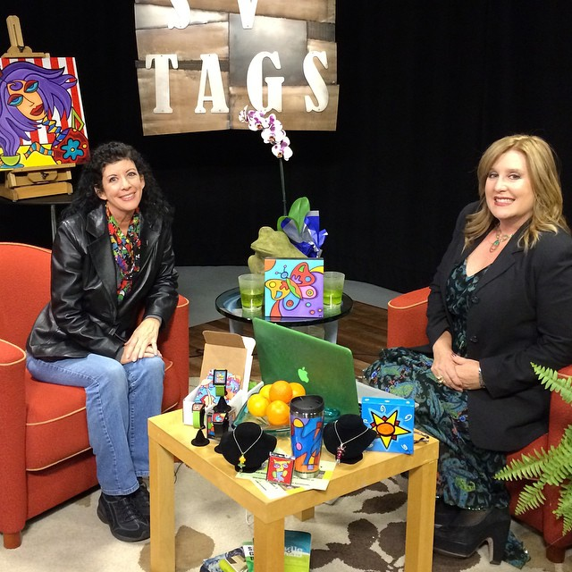 Had a wonderful time at Heather Durham's TV show SVTAGS today where she interviewed me this afternoon as her special guest!  _______________________________________  #implus_daily #primeshots #photooftheday #me #tag #iphoneonly #instadaily #igers #igersoftheday #igs #instagramhub #love #instamood #instagrammer #bestoftheday #instagramers #tbt #igdaily #webstagram #statigram #instatalent #happy #fun #funky #smilegram #photogram #sonyapaz #heatherdurham #svtags