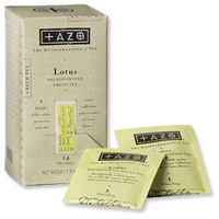 I love Tazo Lotus Tea!