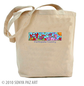 Earthquake Country - Tote Bag
