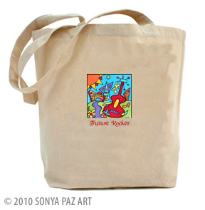 Future Rocker - Tote Bag