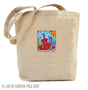 Salsa Rhythm City - Tote Bag