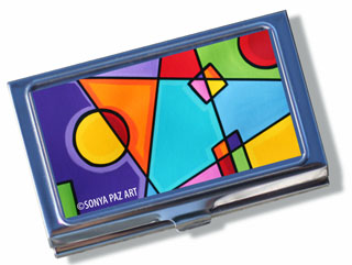 Candy Roulette Business Card Case