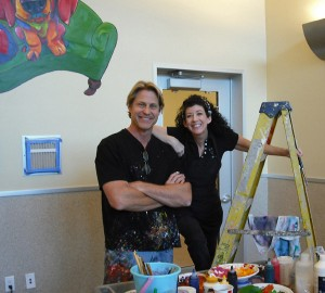 Sonya Paz and Ron Burns at HSSV
