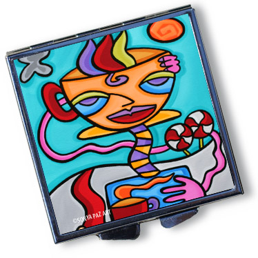Pop Art Pill Box - A Cup Ahead