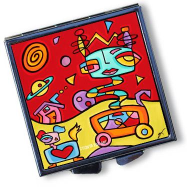 Pop Art Pill Box - Astro Gem