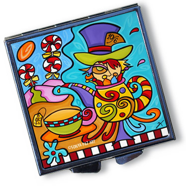 Pop Art Pill Box - Return of the Mad Hatter