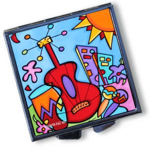 Pop Art Pill Box - Salsa Rhythm City