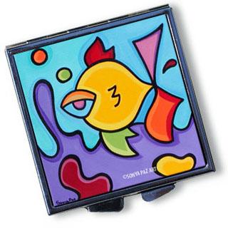 Pop Art Pill Box - Sassy Fish