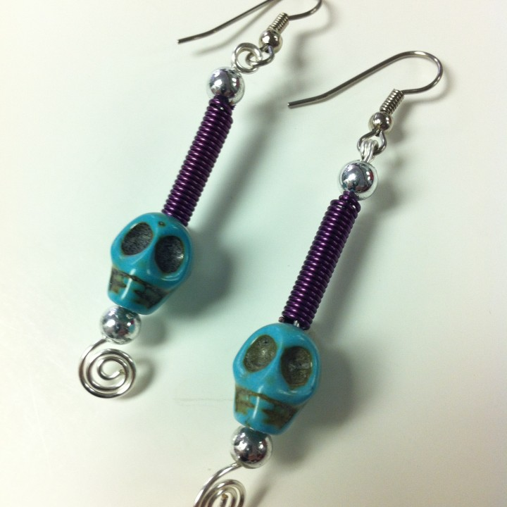 Dia de los Muertos #1 Earrings