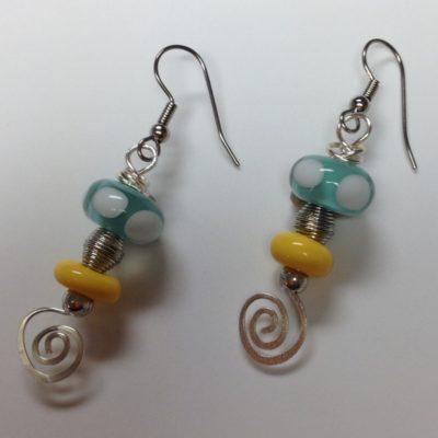 Aquatic Sunshine Earrings