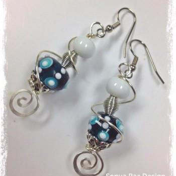 Azule Moon Earrings