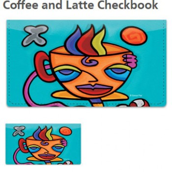 Sonya Paz - Coffee Checkbook Cover!