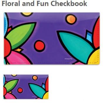 Sonya Paz - Floral Checkbook Cover!