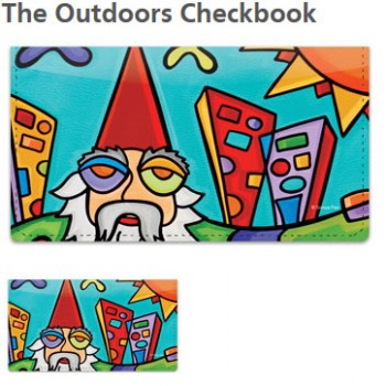 Sonya Paz - Outdoors Checkbook Cover!