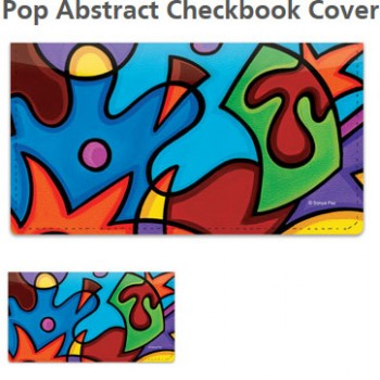 Sonya Paz - Pop Abstract Checkbook Cover!