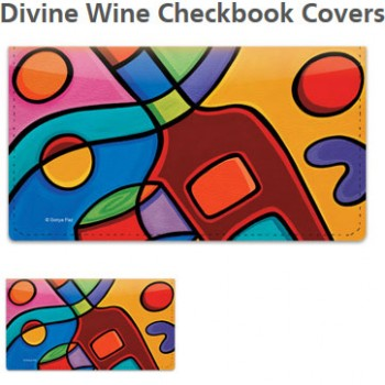 Sonya Paz - Wine Checkbook Cover!