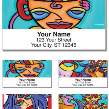 Sonya Paz - Coffee and Latte Labels (Set of 4 designs)