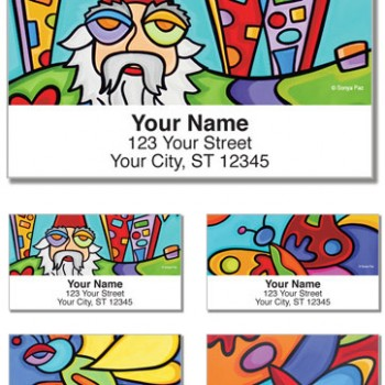 Sonya Paz - The Outdoors Labels (Set of 4 designs)
