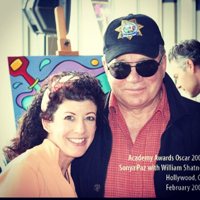 William Shatner and I in Hollywood California a couple of years ago at the Academy Awards  lounge.  _______________________________________  #implus_daily #primeshots #photooftheday #tag #iphoneonly #instadaily #igers #instagramhub #williamshatner #instamood #instagrammer #bestoftheday #instagramers #igdaily #webstagram #statigram #instatalent #happy #fun #funky #smilegram #photogram #sonyapaz #oscars #academyawards