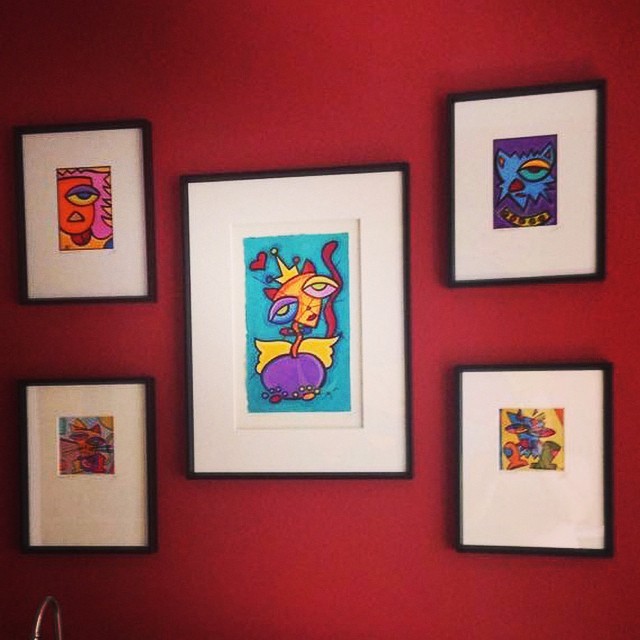 An awesome customer sent over their new wall arrangement of their Sonya Paz original paintings.  _______________________________________  Tag a friend and share!  #art #sonyapaz #design #sonyapazstudio #artist #creative #artwork #painting #originalart #artistsoninstagram #artistsofinstagram #design #acrylicpainting #drawing #photooftheday #icreateart #cats #catart #dogs #dogart #dogsofinstagram  #catsofinstagram