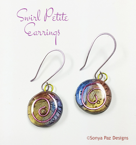 Swirl Petite Earrings 1