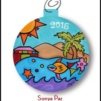 2015 Sonya Paz Limited Eidtion Ornament
