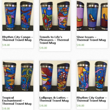 Thermal Tumbler Mugs