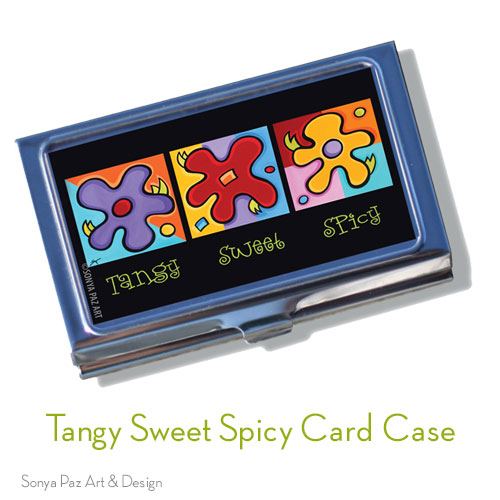 Tangy Sweet & Spicy Business Card Case