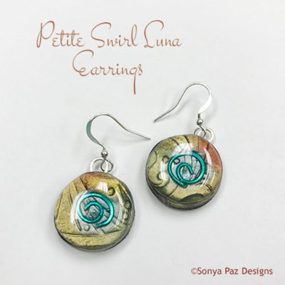 Petite Swirl Luna Earrings