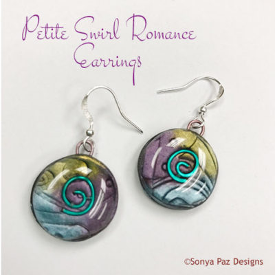 Petite Swirl Romance Earrings