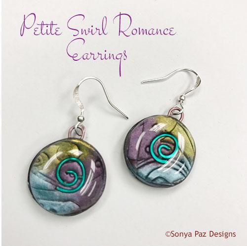 Petite Swirl Romance Earrings