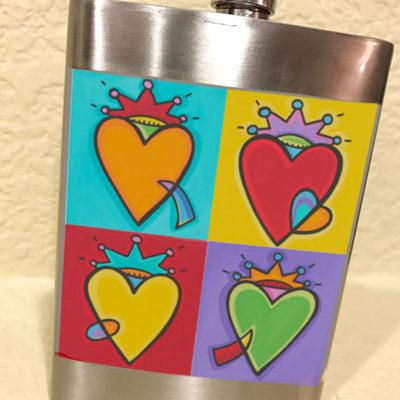 Flask - All Season Love (Hearts)