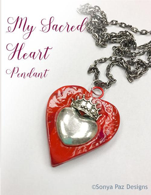 Pendant - Sacred Heart